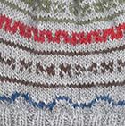 Baby Alpaca Toddler Hat in Grey Mlg. | Classic Alpaca Peru