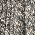 Mixt.Natural-Charcoal-Beige Alpaca Cable Fingerless Gloves