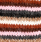 Multicolor 1 Multi - Striped Alpaca Fingerless Gloves