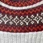 Lt. Grey-Multicolor Winter Color Alpaca Hat