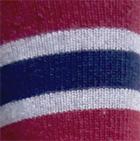 Navy-Cherry-Sport Grey. Multi-Striped Simply Alpaca Socks