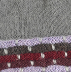 Grey Mlge.-Multicolor Justin Striped Alpaca Hat