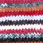 Multicolor 2 Multi - Striped Alpaca Fingerless Gloves