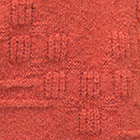 Tangerine Asymmetric Alpaca Sweater