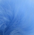 Royal Blue PREMIUM Baby Alpaca Fur - Classic Ornament 12 inches