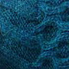 Deep Teal. Reverse Alpaca Fingerless Gloves Long