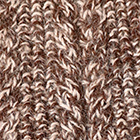 Mixt.Brown-Beige Alpaca Cable Fingerless Gloves