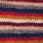 Multicolor 7 Multi - Striped Alpaca Fingerless Gloves