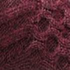 Mulberry Melange. Reverse Alpaca Sweater Cardigan