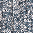Mixt.-Sapphire Mlg-Natural Alpaca Cable Fingerless Gloves
