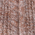 Mixt.-Cinnamon Mlg-Lt. Grey Alpaca Cable Fingerless Gloves