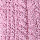 Rose Alpaca Cable Fingerless Gloves