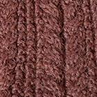 Chestnut Brown Alpaca Cable Fingerless Gloves