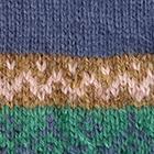 Steel-Multicolor Winter Color Alpaca Fingerles Gloves