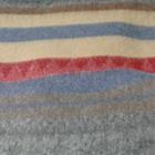 CO300-Grey Mlge.-Yellow-Powder Blue Alpaca Cherokee Blanket