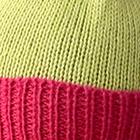 Apple Green-Palo Rosa Alpaca Kids - PomPom Hat