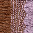 Vicuna-Lilac Mlge. Waves Baby Alpaca Infinity Scarf