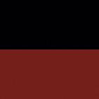 Black-Red Ladies Reversible Alpaca Toggle Coat with Fur