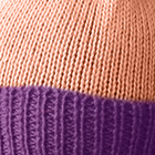 Melon-Purple Haze Alpaca Kids - PomPom Hat