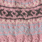 Rose.-Comb2 Andean Cable Alpaca Kids-Hat