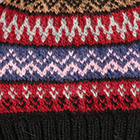 Black.-Comb2 Fair Isle Alpaca Hat