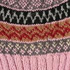 Rose.-Comb1 Fair Isle Alpaca Hat