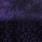 Purple-FurPurple Diamond Cable Alpaca Gloves With Fur