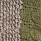 Sand Mlge.-Olive Waves Baby Alpaca Infinity Scarf