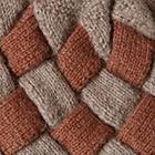 Sand Mlge.-Amber Mlge. Patchwork Knit Alpaca Hat