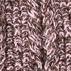 Brown Mlge-Rose Alpaca Cable Fingerless Gloves
