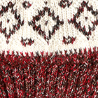 Mixt. Natural-Red Dallas Baby Alpaca Hat