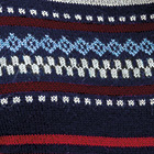 Navy Country Meadow Alpaca Chullo