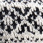Natural-Black Agathe Alpaca Headband