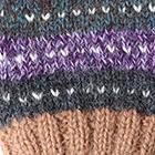 Multicolor 4 Cusco Alpaca Fingerless Gloves