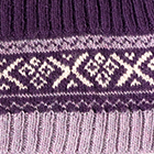 Purple-Lilac Mlge. Andean Baby Alpaca Infinity Scarf