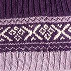 Purple-Lilac Mlge. Andean Baby Alpaca Infinity Scarf