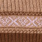 Cinnamon Mlge.-Brown Andean Baby Alpaca Infinity Scarf