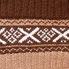 Brown-Camel Andean Baby Alpaca Infinity Scarf