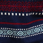 Navy Country Meadow Alpaca Sweater