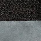 Black-Grey Alpaca Crochet Half Finger Driving