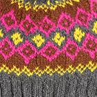 Charcoal.-Multicolor 1 Cabin Alpaca Kids Hat