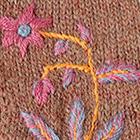Henna Mlge. Blossom Baby Alpaca Fingerless Gloves