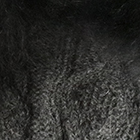 Charcoal-FurCharcoal Diamond Cable Alpaca Gloves With Fur