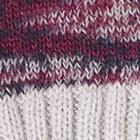 Mixt. Purple-Lt. Grey Seattle Alpaca Gloves