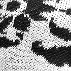 Natural-Black Rozalia Alpaca Sweater