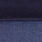Woven & Brushed Double Face Baby Alpaca Scarf-Heavy Weight in Navy-Denim