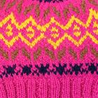 Fuchsia.-Multicolor2 Jasper Alpaca Kids-Hat