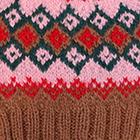 Camel.-Multicolor 2 Cabin Alpaca Kids Hat