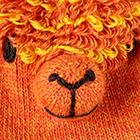 Orange Alpaca Kids - Alpaca Mittens
