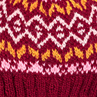 Burgundy.-Multicolor1 Jasper Alpaca Kids-Hat